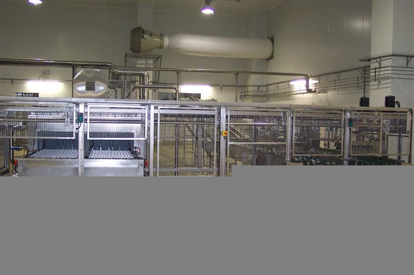 FROMAGERIES BEL - PASTE PRESSED CHEESE ELABORATION LINE (RIBEIRA GRANDE - PORTUGAL)