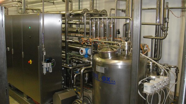 WIMM-BILL-DANN/PEPSICO - SOFT CHEESE MANUFACTURING LINE VIA ULTRAFILTRATION (MOSCOW - RUSSIA)